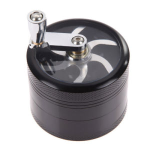 4 Layer Hand Smoke Detector Grinder Herb pictures & photos