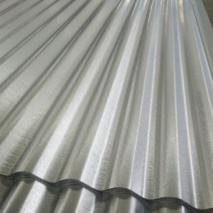 0.45mm 55% Aluminum Galvalume Corrugated Steel Roofing Sheet pictures & photos