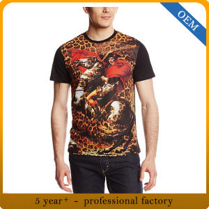 Custom Men′s Sublimation Printed T Shirt pictures & photos