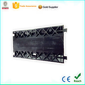 PVC Cover 3 Channel Cable Protector pictures & photos