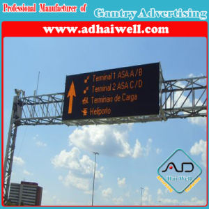 Gantry Cross Road Traffic LED Screen Sign Billboard pictures & photos