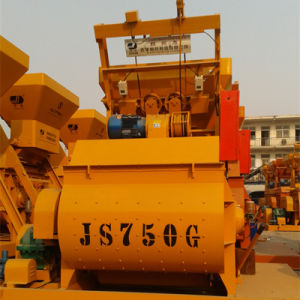 (JS750II) Twin Shaft Compulsory Concrete Mixer pictures & photos