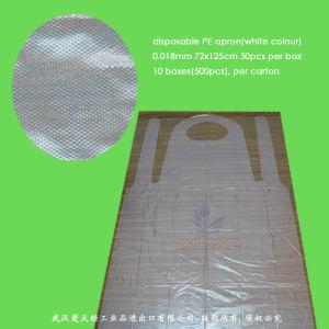 Disposable Clear PE Apron pictures & photos