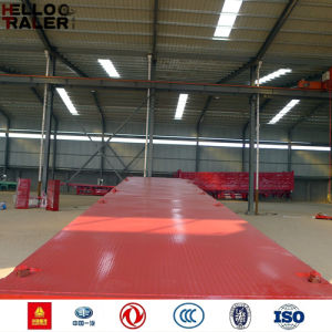 China Made Flatbed Semi Trailer Sale to Africa pictures & photos