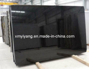 Shanxi Black Granite Stone Slabs for Countertops pictures & photos