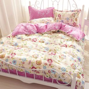 Triple Textile 100% Cotton High Quality Bedding Set for Home/Hotel Comforter Duvet Cover Bedding Set pictures & photos