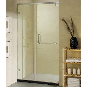 Bathroom Temper Glass Swing Two Panels Shower Door Swing Door Shower pictures & photos