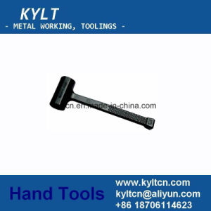 Dead Blow Hammer with PU Glassfiber Handle pictures & photos
