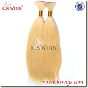 Hair Bulk Extension 100% Natural Indian Virgin Hair pictures & photos