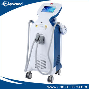 Vertical Super IPL Shr+E-Light Vascular Therapy Equipment with 2 Handpieces (HS-650) pictures & photos