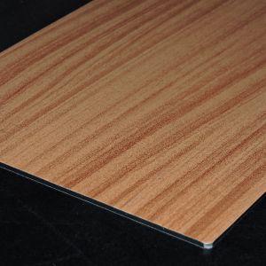 3mm Wood Grain PE Aluminum Plastic Composite Panel pictures & photos