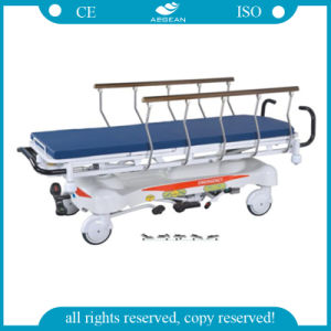 Good Quality CE&ISO Approved AG-Hs001 Hospital Hydraulic Stretcher pictures & photos