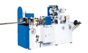 Printed/Embossed Napkin Folder Paper Finish Machine Paper Machine pictures & photos
