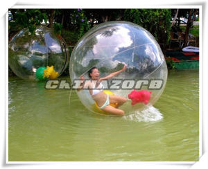 Summer Hot Sale Water Game Inflatable Water Ball pictures & photos