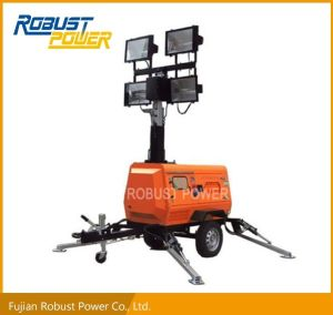 Gu3303 Digital Controller Mobile Diesel Generator Light Tower pictures & photos