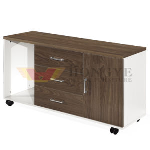 China Middle Height Wooden Office Desk Side Table for Office