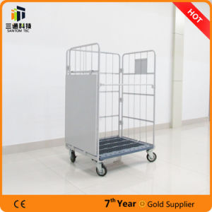 Tow Shelf Steel Cart for Warehouse pictures & photos