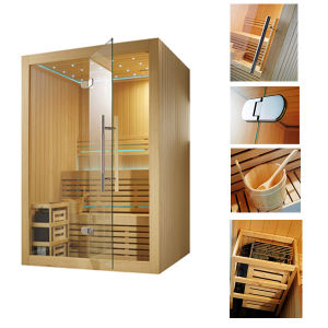 Monalisa Family LED Light Dry Sauna House pictures & photos