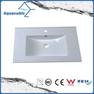 Good Quality Square Polymarble Vanity Top Acb7503 pictures & photos