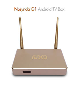 WiFi Android 5.1 Quad-Core Rk3128 Smart TV Box Q1 pictures & photos