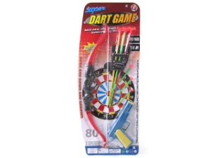 Plastic Bow and Arrow with Soft Bullet Gun (10221527) pictures & photos