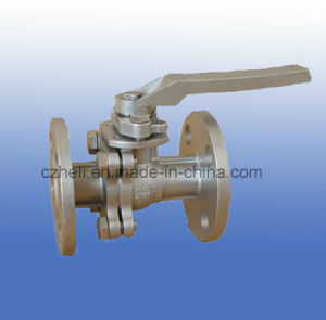 3PC Flange Carbon Steel Ball Valve pictures & photos