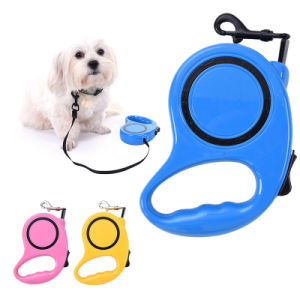 Outdoor Walking Doggy Adjustable Automatic Retractable Leash pictures & photos