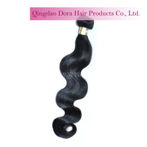 Brazilian Mink Human Hair Weft in Stock Natural Virgin Hair Weave pictures & photos