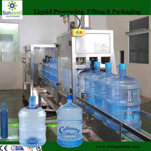 300 Bottles 5 Gallon Water Bottle Plant for Purified Water Production Factory (Sunswell) pictures & photos