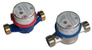 Multi Jet Dry Type Plastic Cold Water Meter pictures & photos