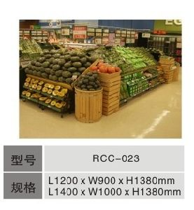 Wooden Vegetable Rack (RCC-056)