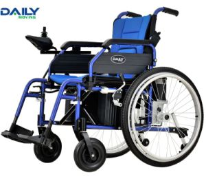"""24"""" Big Drive Wheels Folding Electric Power Wheelchair Dp603 pictures & photos"""