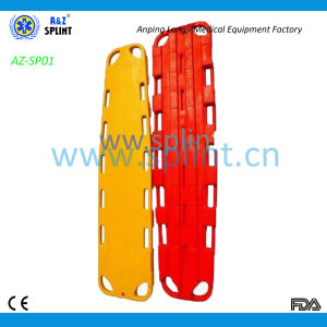 Emergency Foldable Spine Board for Patients′ Transfer