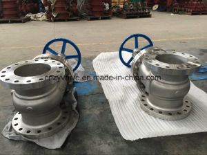 "API600 Cast Steel Stainless Steel Dn65 Class150 Gate Valve (Z41W-150LB-21/2"") pictures & photos"