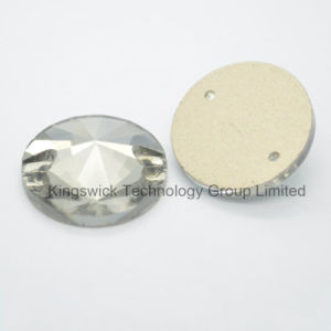 Wholesale Rhinestone Button Rivoli Sew on Stone pictures & photos