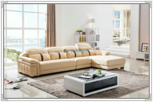 Living Room Sofa, Leather Sofa, Section Sofa (M221) pictures & photos