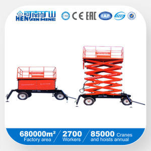 Good Price Movable Hydraulic Scissor Work Platform / Lift Table pictures & photos