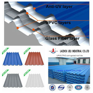 Glass Fibre Reinforced UPVC Roof Sheet pictures & photos