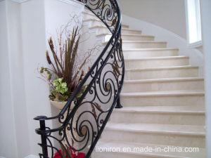 Ornamental Wrought Iron Hand Railings pictures & photos