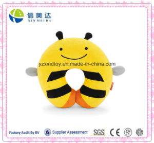 Cute Bee Insect Shaped Plush Neck Piloow for Kids pictures & photos