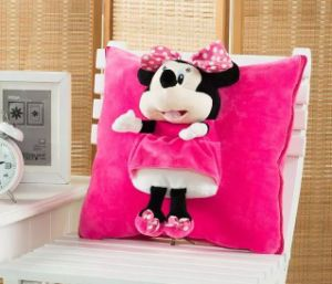 Coral Fleece 3D Animal Cushion / Blanket Animal Throw 3D Blankt Animal Blanket Toy Blanket Toy Cushion Multifunctional Blanket pictures & photos