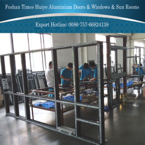 2016 Modern Aluminum Fixed Window with Big Size pictures & photos