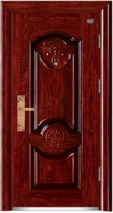 Security Steel Door with Nice Pattern pictures & photos