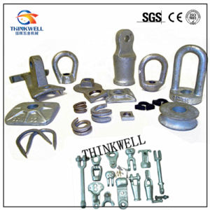 Steel Eyelets Oval Eye Nuts Electric Power Fitting Rigging pictures & photos