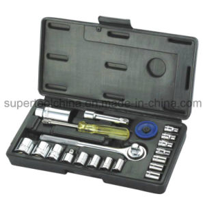 "21 PCS 1/4"" & 3/8"" Dr. Socket Set pictures & photos"