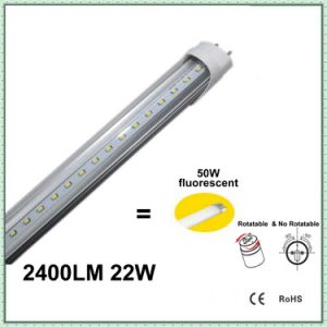 SMD2835 T8 LED Tube Light with Clear Cover pictures & photos