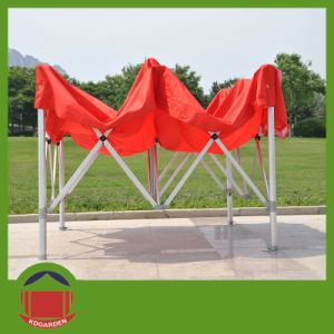 Cheap Prices Customized Logo PVC Coating Aluminum Flex Tents pictures & photos