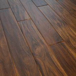 Foshan Low Price Handscraped Acacia Walnut Hardwood Flooring pictures & photos