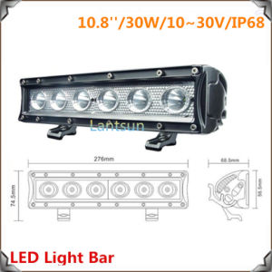 30W CREE LED 4X4 Light Bar (LED7-30W) pictures & photos