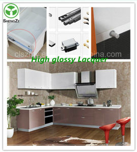 2015 Hot Sale High Glossy Lacquer Kitchen Cabinet, MDF Lacquer Kitchen Cabinet, Good Quality Kitchen Furniture pictures & photos